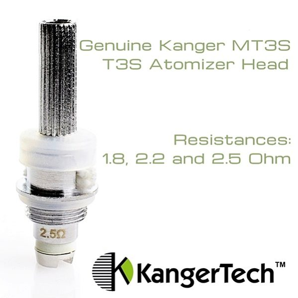 Genuine Kanger MT3S T3S Atomizer Head