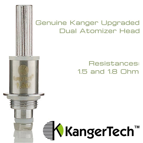 Genuine Kanger Upgraded Dual Atomizer Head